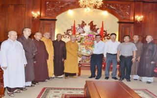 Tiếp Ban Trị sự Giáo hội Phật giáo tỉnh