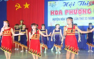 Hội thi Hoa phượng đỏ huyện Hoà Thành năm 2017