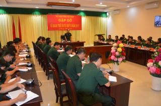 Bộ CHQS Tây Ninh gặp gỡ sĩ quan trẻ ưu tú