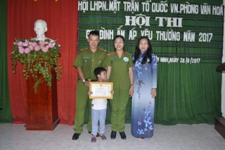 """Hội LHPN thành phố Tây Ninh: Tổ chức Hội thi """"Gia đình ấm áp yêu thương"""""""