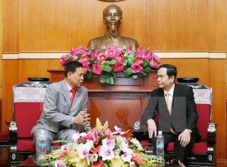 Củng cố tình hữu nghị giữa Mặt trận hai nước Việt Nam-Campuchia