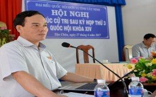 ĐBQH tiếp xúc cử tri Tây Ninh sau kỳ họp thứ 3 Quốc hội khoá XIV