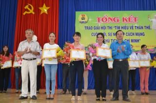 """Châu Thành: Trao giải Hội thi """"Tìm hiểu về thân thế, cuộc đời, sự nghiệp cách mạng của Chủ tịch Hồ Chí Minh"""""""