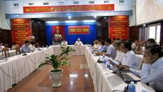 Năm 2016, chỉ số cải cách hành chính của Tây Ninh xếp thứ 44/63 tỉnh, thành phố