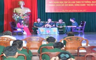 """Đẩy mạnh học tập và làm theo tư tưởng, đạo đức, phong cách Hồ Chí Minh, xứng danh """"Bộ đội Cụ Hồ"""" trong thời kỳ mới"""