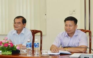 Tiếp và làm việc với Trung ương Hội Chữ thập đỏ Việt Nam