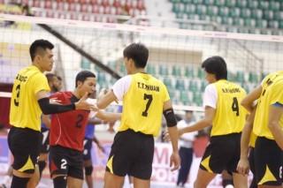 Chủ nhà VN vào tứ kết Giải bóng chuyền CLB nam châu Á