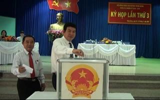 Ông Nguyễn Thành Tiễn được bầu làm Chủ tịch HĐND huyện nhiệm kỳ 2016-2021