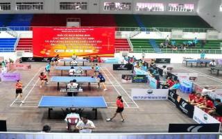 Khởi tranh Giải vô địch bóng bàn tỉnh Tây Ninh