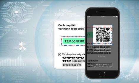 Mobi NEXT - Ứng dụng nạp tiền bằng QR Code của Mobifone