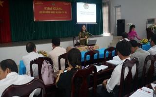 Khai giảng lớp bồi dưỡng nghiệp vụ công tác hội nông dân