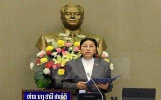 Chủ tịch Quốc hội Lào Pany Yathotou bắt đầu chuyến thăm Việt Nam