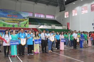 Khai mạc Hội thi thể thao, văn nghệ các Sở Nông nghiệp và Phát triển nông thôn khu vực Đông Nam bộ