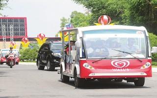 Sẽ có xe điện phục vụ khách tham quan thành phố Tây Ninh và huyện Hoà Thành