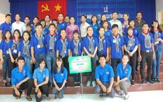 Sinh viên ĐH Thủ Dầu Một tham gia tình nguyện hè tại huyện Dương Minh Châu