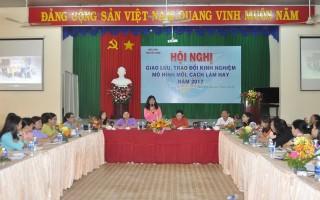 Học tập kinh nghiệm từ cách làm hay của Hội LHPN huyện Dương Minh Châu