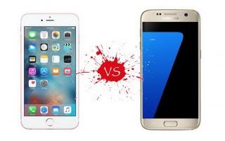 Nên mua iPhone 6s hay Galaxy S7 khi mức giá ngang nhau
