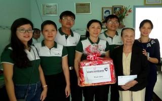 Vietcombank Tây Ninh: Nhận phụng dưỡng các mẹ VNAH trên địa bàn Thành phố