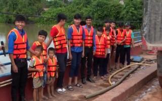 Ra mắt bến đò ngang an toàn ở huyện Tân Biên