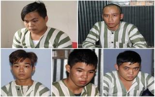 CATN: Bắt giữ 13 đối tượng giết người