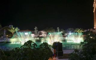 Đài nhạc nước Hồ Tràm - điểm hẹn thú vị cho nhiều sự kiện