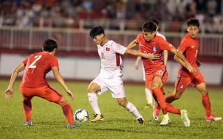 Vé xem trận U-22 VN và Các ngôi sao K-League: cao nhất 250.000 đồng