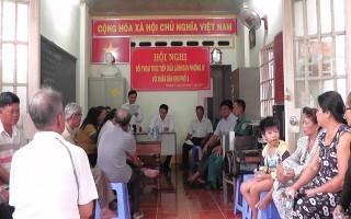 Lãnh đạo phường IV đối thoại với nhân dân