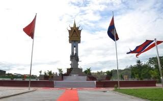 Khánh thành Tượng đài Hữu nghị Việt Nam-Campuchia tại tỉnh Battambang