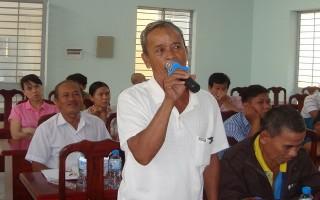 Đại biểu HĐND hai cấp tiếp xúc cử tri Gò Dầu