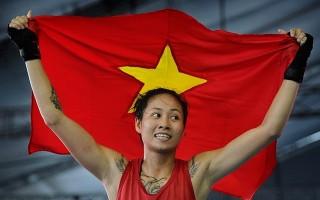 Võ sĩ Việt giành HCV Muay thế giới trước mặt người Thái