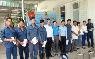 Tân Châu: Thành lập CĐCS Công ty cổ phần công nghệ môi trường Tây Ninh