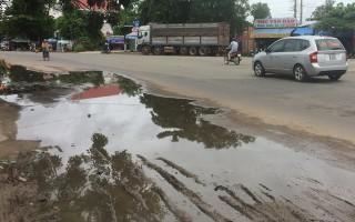 Những con đường khó tiêu thoát nước