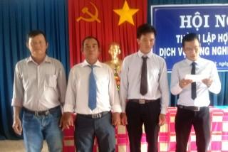 Thành lập HTX Dịch vụ nông nghiệp Long Chữ