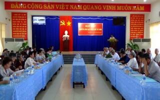 Thành uỷ Tây Ninh họp mặt các đồng chí nguyên là lãnh đạo Thành phố