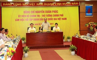 Thủ tướng khích lệ nỗ lực của Tập đoàn dầu khí