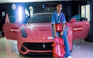 Tỷ phú Dubai tặng Ferrari cho con trai 15 tuổi