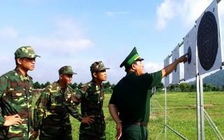 Bộ đội Biên phòng Tây Ninh tổ chức bắn đạn thật