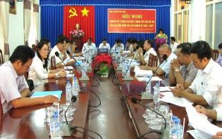 TP.Tây Ninh: Hội nghị chuyên đề nâng cao chất lượng tiếp xúc cử tri của đại biểu HĐND các cấp