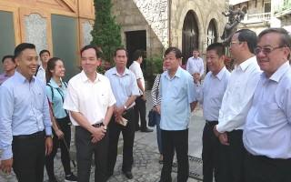 Thăm và làm việc với Tập đoàn Sun Group tại Đà Nẵng