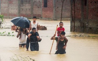 Thương vong do lũ lụt và sạt lở đất tại Nepal tăng lên 91 người
