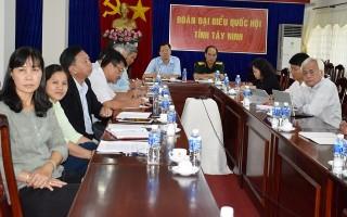 Uỷ ban Thường vụ Quốc hội tổ chức phiên chất vấn Bộ trưởng Bộ Xây dựng