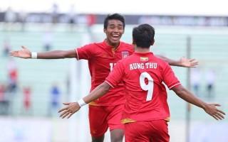 Đè bẹp Brunei, U-22 Myanmar sớm đoạt vé vào bán kết