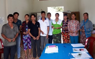 Hội Nông dân huyện Dương Minh Châu giải ngân vốn vay cho nông dân