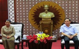 Phó Thủ tướng Campuchia thăm, làm việc tại Tây Ninh