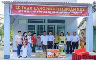 Tân Châu: Bàn giao nhà đại đoàn kết cho hộ nghèo 2017