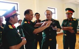 Bộ Tư lệnh Quân khu 7: Kiểm tra nhiệm vụ công tác kỹ thuật tại Sư đoàn 5