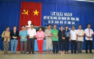 Hội Nông dân tỉnh Tây Ninh: Giải ngân 500 triệu đồng cho nông dân xã Suối Đá