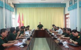 Hội đồng xét duyệt chức danh Giáo sư ngành Khoa học quân sự (Bộ Quốc phòng) làm việc tại Tây Ninh