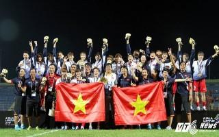 Vượt mặt Thái Lan, tuyển nữ Việt Nam vô địch SEA Games 29