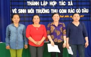 Gò Dầu: Thành lập HTX Vệ sinh môi trường thu gom rác